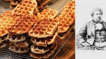 recette gaufre flamande Alexandre Dumas