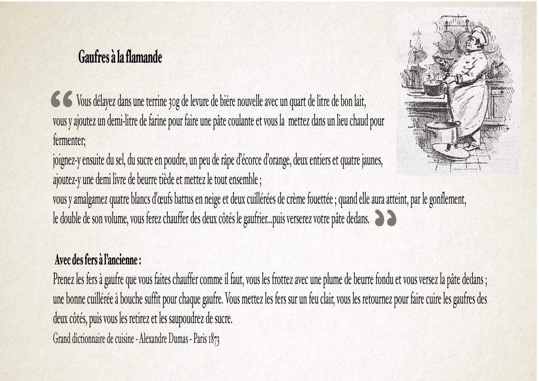Alexandre dumas recette cuisine - Dictionnaire de cuisine alexandre dumas ...