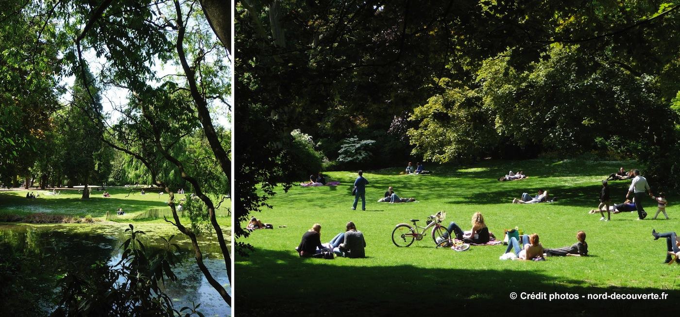 Le jardin vauban de lille l 39 me romantique du xixe for Jardin vauban lille