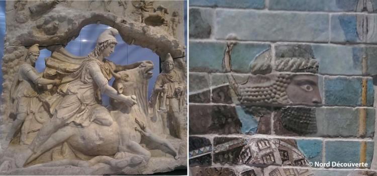 oeuvres exposées dans la galerie du Temps du musée Louvre-Lens