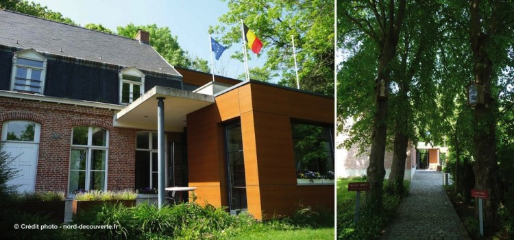 entree-musee-vie-frontaliere-Godewaersvelde-nord-decouverte
