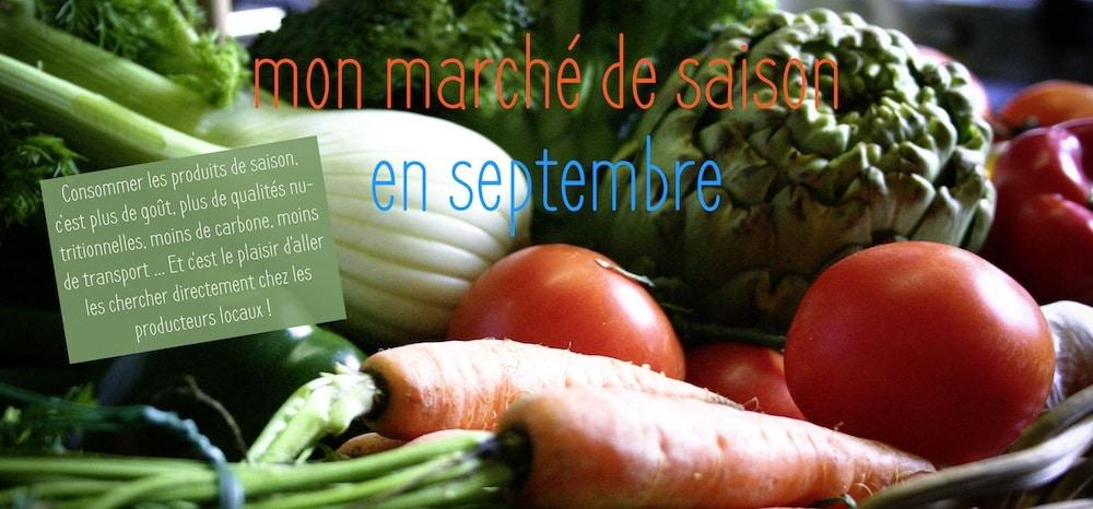 Faites votre march de saison en septembre - Legumes de saison septembre ...
