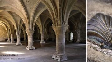 l'abbaye de Vaucelles est sur le chemin de Compostelle