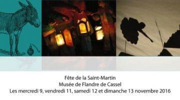 affiche du week-end de la Saint-Martin au musée de Cassel