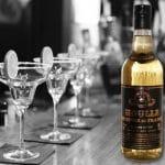 vue d'une bouteille de genièvre de Houlle de la distillerie Persyn création Nord Découverte