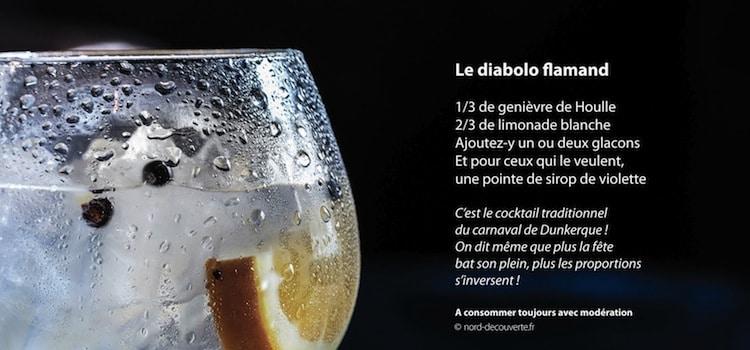 recette de cocktail diabolo flamand avec genièvre de Houlle de la distillerie Persyn