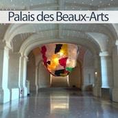 vignette de la vue intérieure du Palais deseaux Arts de Lille