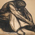 une des oeuvres de Dorignac exposée durant l'exposition de la Piscine de Roubaix