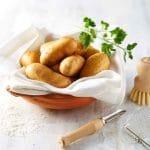 la pomme de terre Pompadour est appréciée en cuisine pour sa chair savoureuse au goût de beurre frais