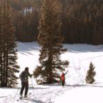 faire du ski de fond sur les pistes de Gedinne en Belgique
