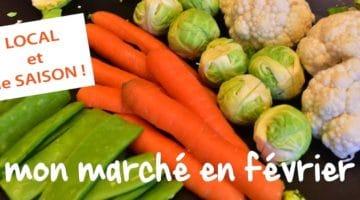 faites votre marché de saison de février, ici, en direct chez les produteurs du le Nord-Pas-de-Calais