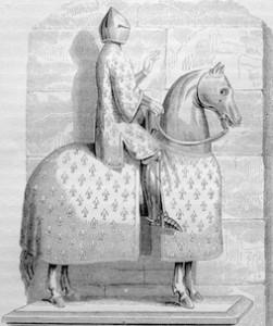 Philippe le Bel entrant victorieux 1304