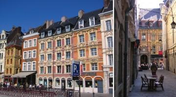 autour de la place du Général de Gaulle à Lille