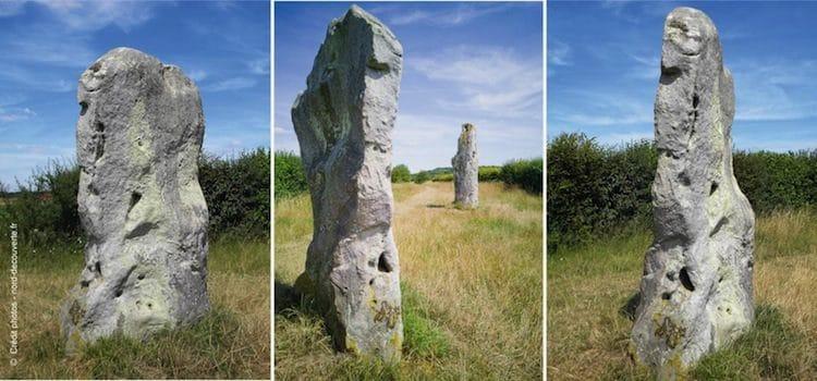 différentes vues des pierres jumelles d'Ecoivres