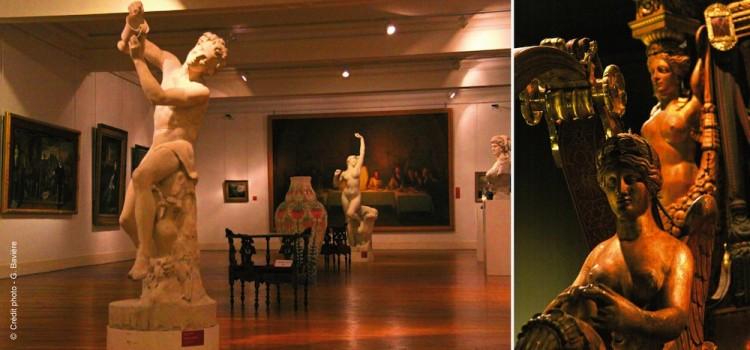 vue d'une galerie du musée des Beaux-Arts d'Arras