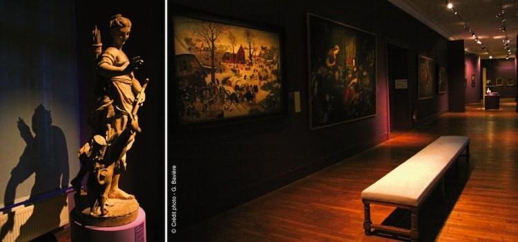 une salle du musée des Beaux-Arts d'Arras