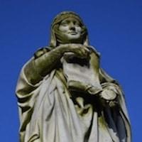 Statue de Marguerite de Flandres. Oeuvre de G. Crauk - 1880