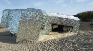 blockhaus-miroir-Leffrinckoucke-soir-nord-decouverte