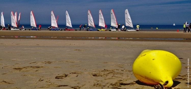 char-voile-plage-Leffrinckoucke-soir-nord-decouverte