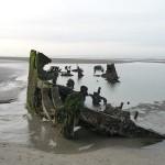 epave-plage-Leffrinckoucke-nord-decouverte