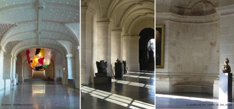 vue de la grande galerie Palais des Beaux-Arts de Lille