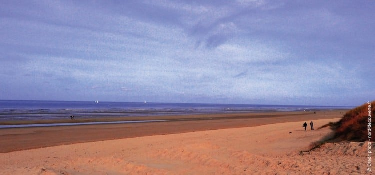 vue-plage-Leffrinckoucke-soir-nord-decouverte