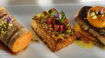 tranche de foie gras préparée