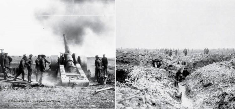 image d'arcive de la bataille de Vimy