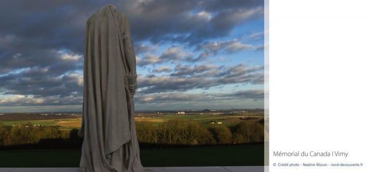 vue de la plaine lensoise Mémorial canadien de Vimy reportage Nord Découverte