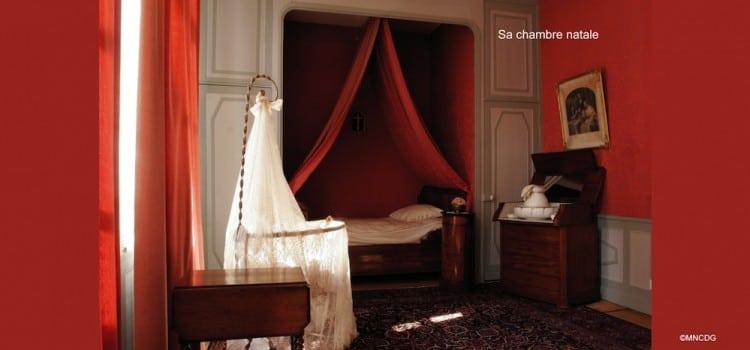 reconstitution de la chambre de Charles de Gaulle