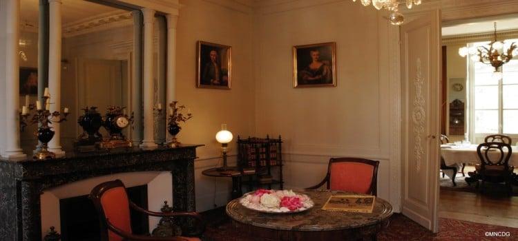 vue du salon de la maison natale de Charles de Gaulle à Lille