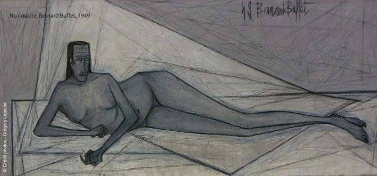 Oeuvre de Bernard Buffet présente au musée LaM de Villeneuve d'Ascq