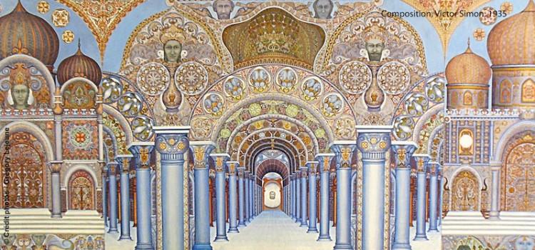 oeuvre de Victor Simon présente au du musée LaM de Villeneuve d'Ascq