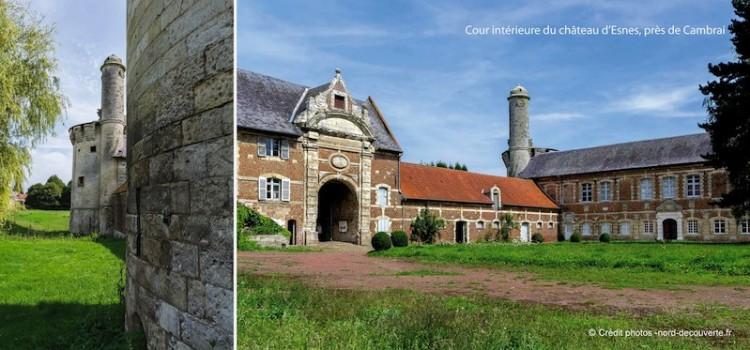 cour-interieure-chateau-esnes-nord-decouverte