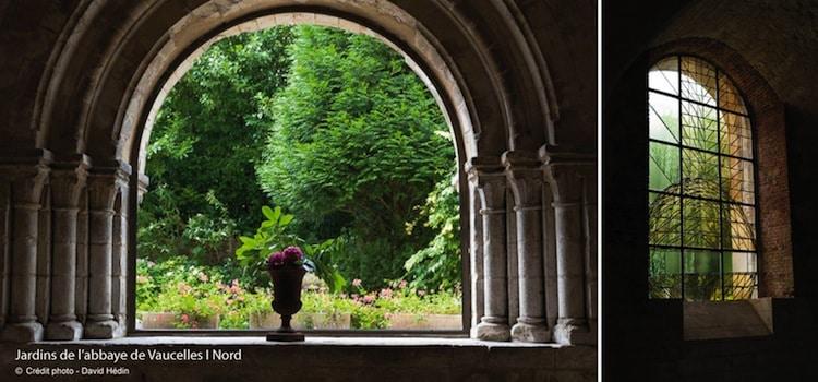 ouverture des vitraux installés dans l'abbaye de Vaucelles