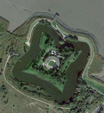 vue-aerienne-fort-liefkenshoek-nord-decouverte