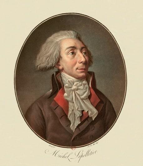 portrait de Lepelletier