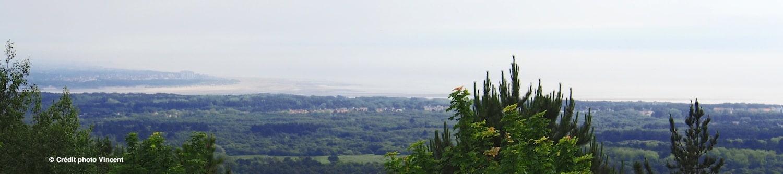 La vue panoramique du Mont-Saint-Frieux est exceptionnelle