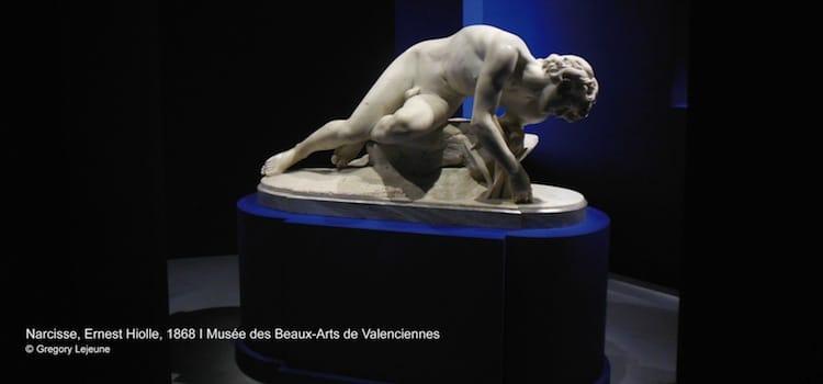 Narcisse, l'oeuvre d'Ernest Hiolle au musée des Beaux-Arts de Valenciennes