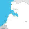 carte des promenades avec son toutou en baie de Somme