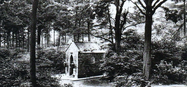 arte postale ancienne de la chapelle de l'Ercompuch à Stambruges