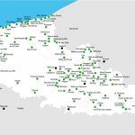 cartes des lieux évoqués dans le guide balades et boules de poils édité par nNord Découverte