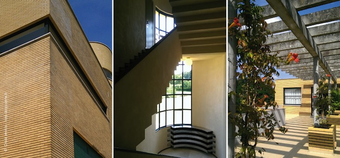 plusieurs vue de la Villa Cavrois à Croix un reportage Nord Découverte