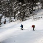 ski de fond à la Baraque Michel en Belgique, article mis en ligne par Nord Découverte