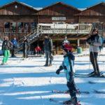ambiance familiale à la station de ski alpin d'Ovifat en Belgique, article mis en ligne par Nord Découverte