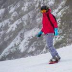 faire du surf sur les pistes enneigées de Spa en Belgique