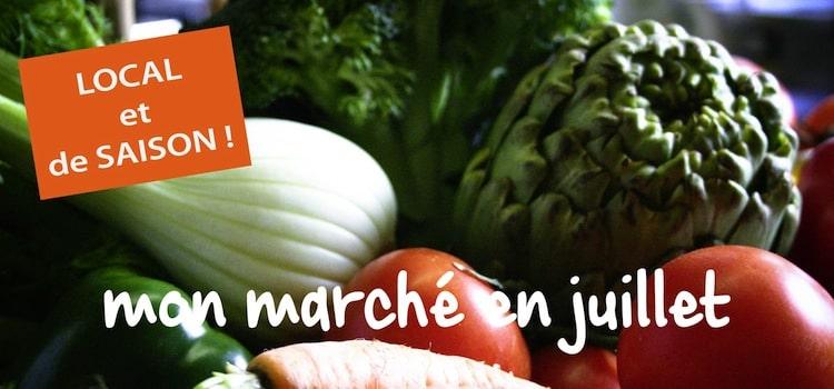 faites votre marché de saison en juillet, ici, en direct chez les produteurs du le Nord-Pas-de-Calais