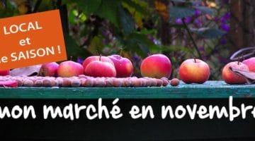 faites votre marché de saison de novembre, ici, en direct chez les produteurs du le Nord-Pas-de-Calais