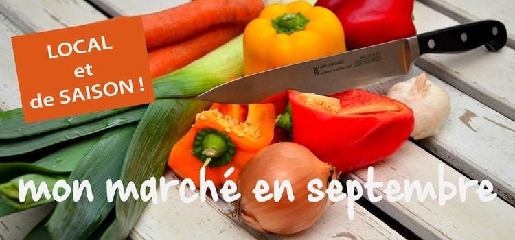 faites votre marché de saison en septembre, ici, en direct chez les produteurs du le Nord-Pas-de-Calais
