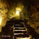 vue d'une des galeries souterraines de la carrière Wellington